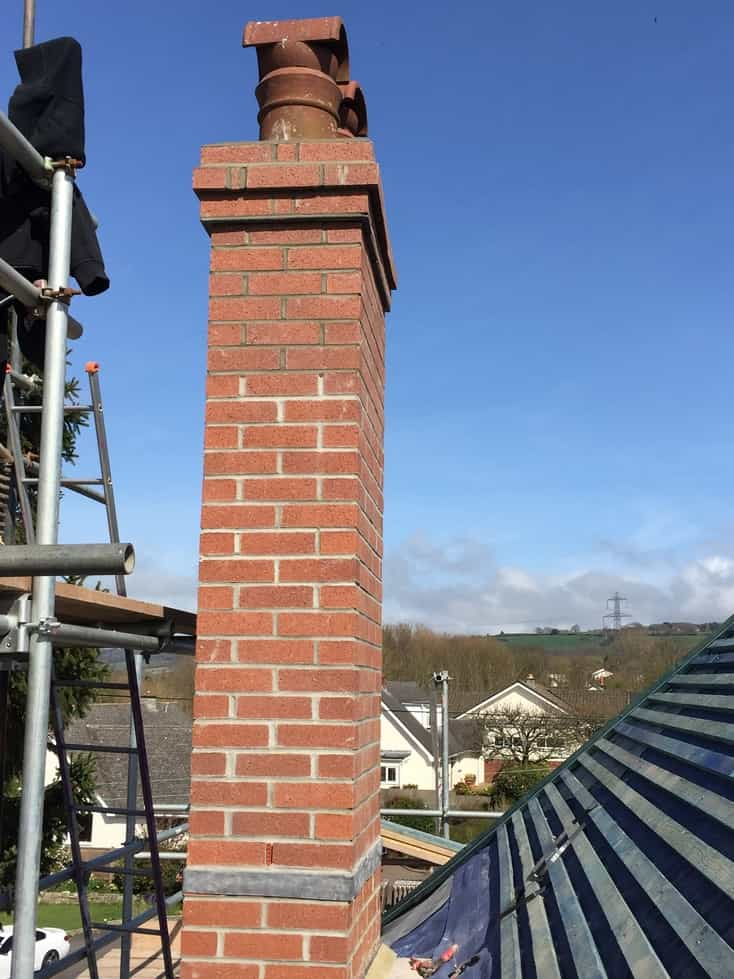 Chimney Rebuilding Amp Lead Tray Work Ridge Roofing