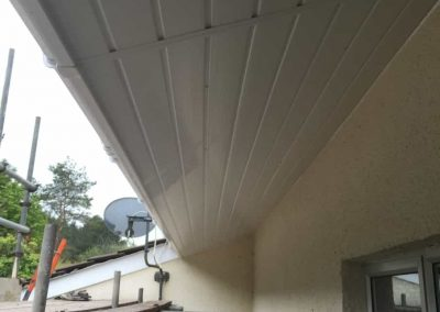Under soffit completed