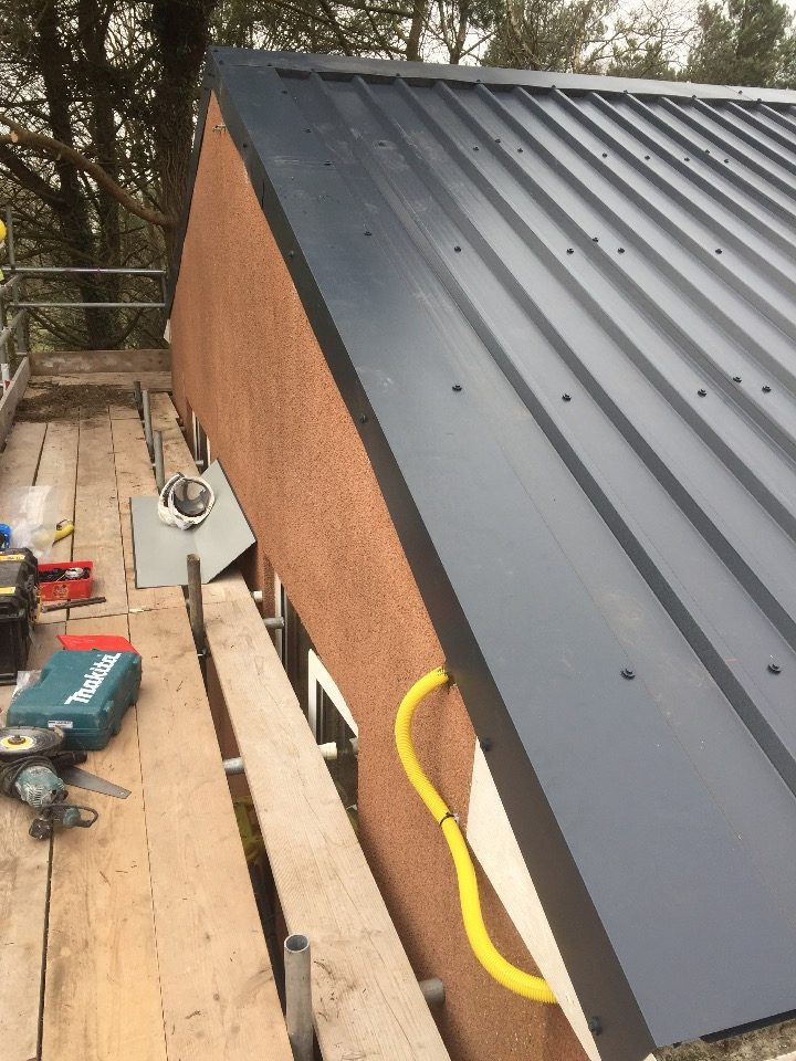 Box Profile Sheeting Ridge Roofing