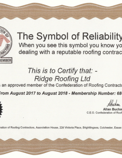 Confederation of Roofing Contrators