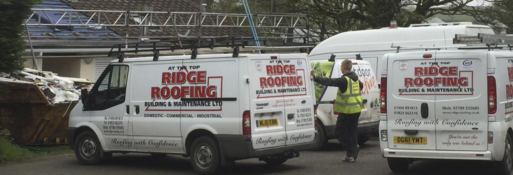 Ridge Roofing Vans
