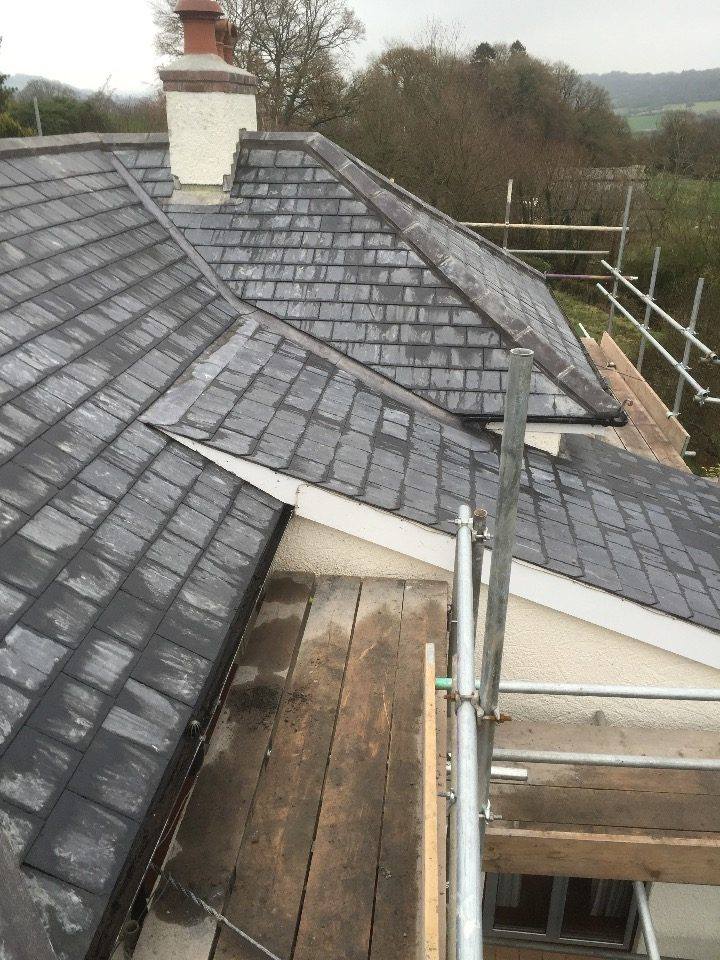 Slate And Tiling Ridge Roofing Honiton Devon