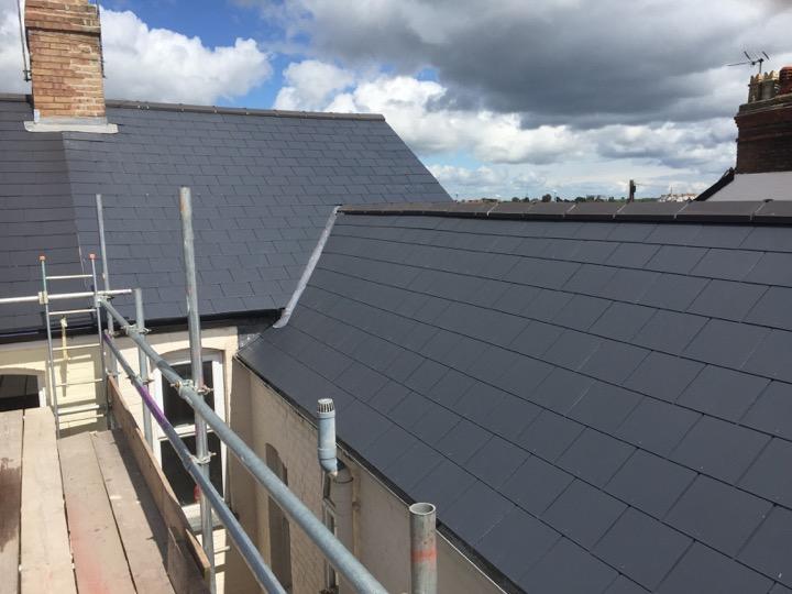 Slate And Tiling Ridge Roofing Honiton Devon